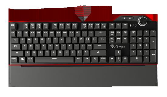 Klaiatura Natec Genesis RX85 mechaniczna